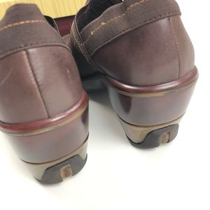 Jambu Shoes - Jambu   Cali Brown Slip On Clog Genuine Leather